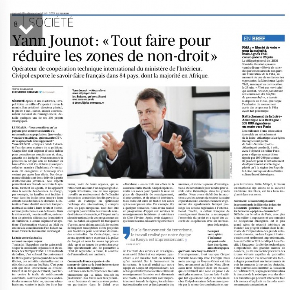 INTERVIEW Yann Jounot